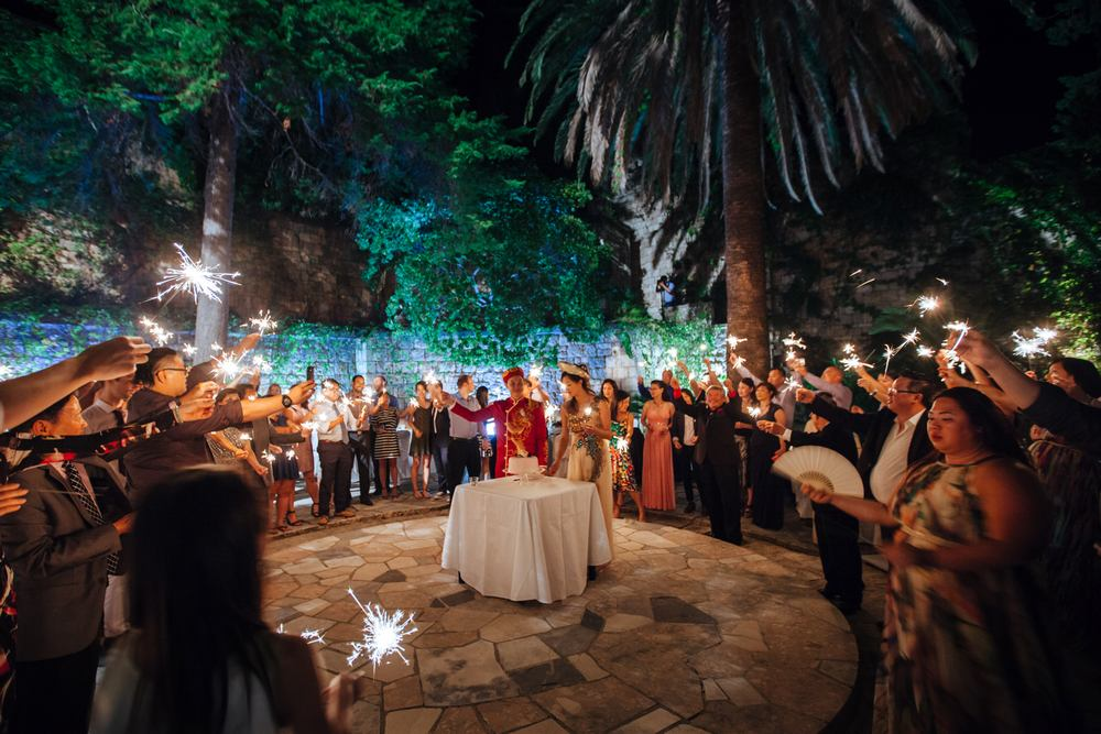 Weddings in Dubrovnik - Villa Sheherezade © studiodt.com