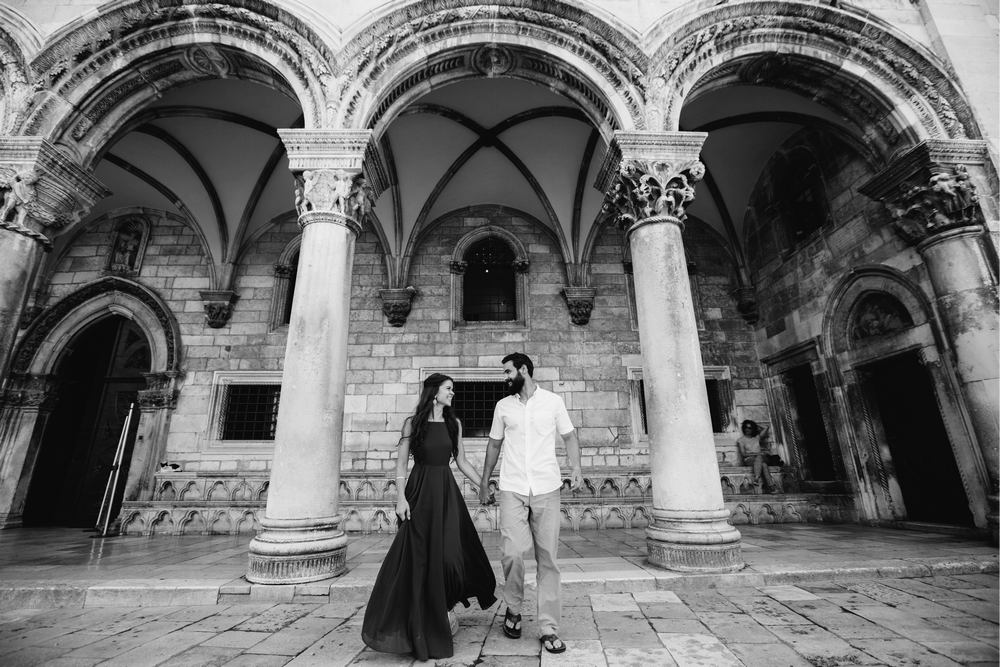 The Rector's Palace is 3-levels building with 4 wings, court towers, atrium and inner court. Dubrovnik Weddings