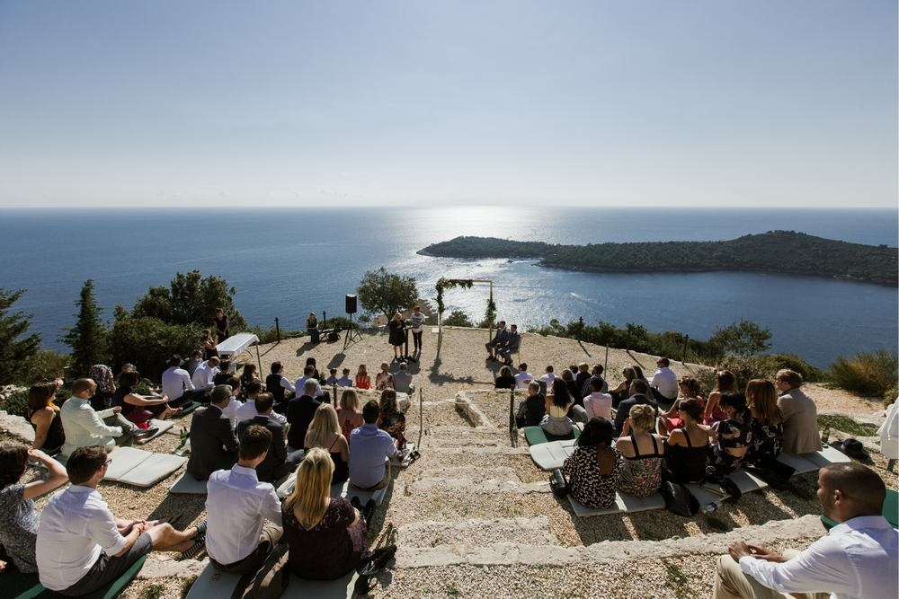 Outdoor Weddings in Dubrovnik - Park Orsula