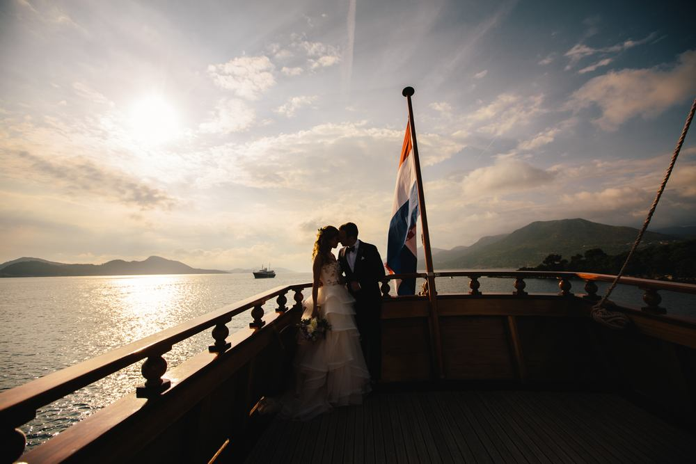 Wedding on The boat - Wedding in Dubrovnik