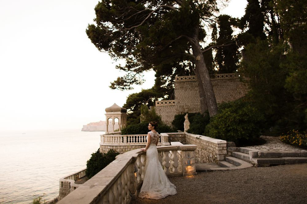 Weddings in Dubrovnik -What a view of the Old City of Dubrovnik