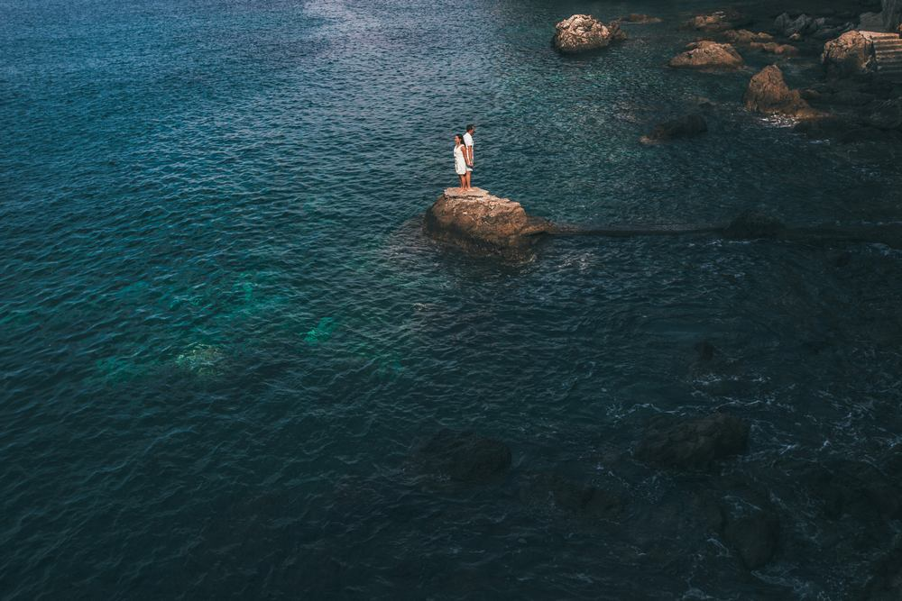 Dubrovnik Weddings - A Photosession at the coastline