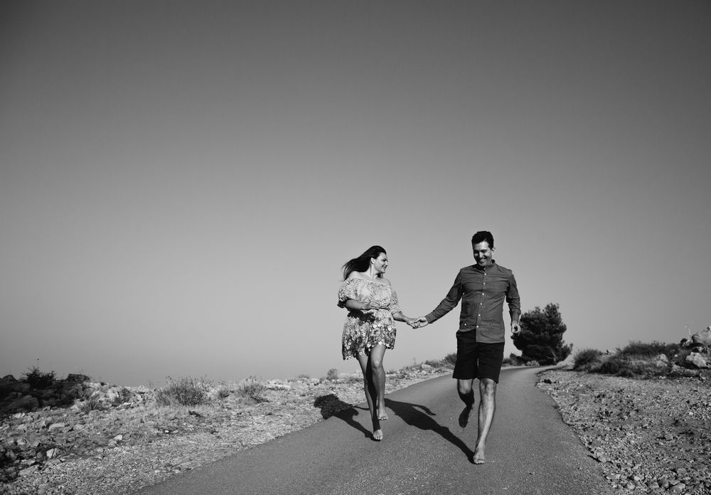 Andrea & Antun on their engagement photo session in Dubrovnik by DTstudio, Dubrovnik Engagement photographer