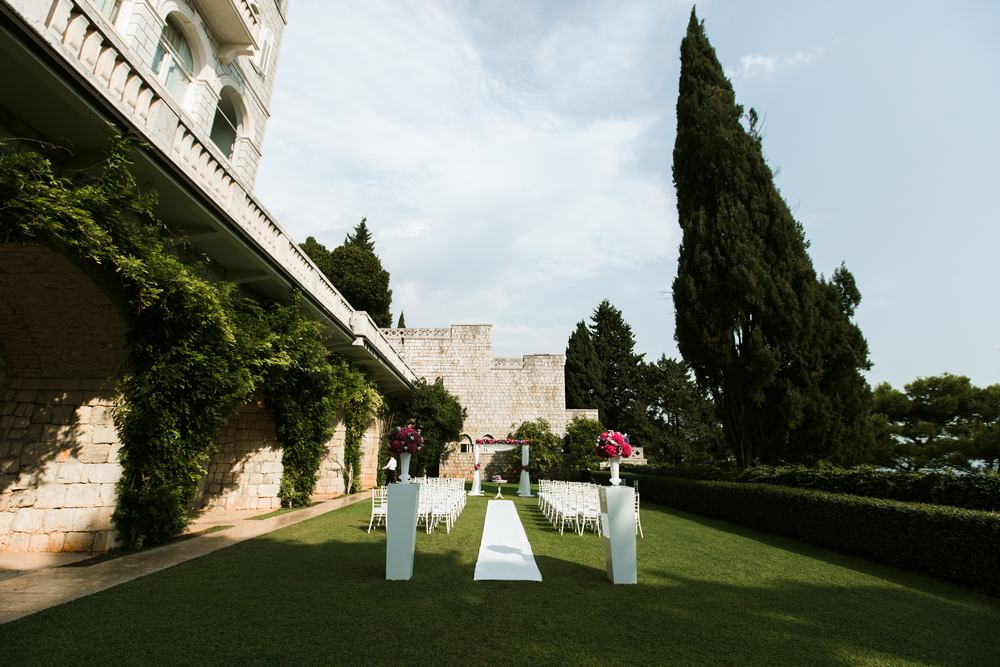 Weddings in Dubrovnik - getting married in Villa Argentina