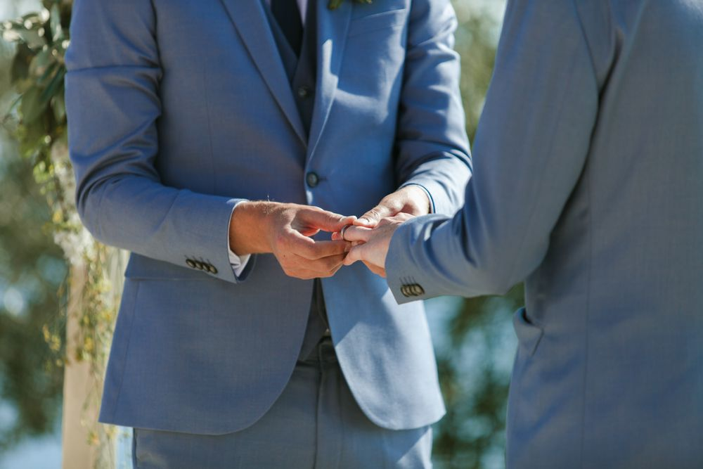 Put a Ring on It in Dubrovnik 📷 by Croatian same-sex wedding photographer