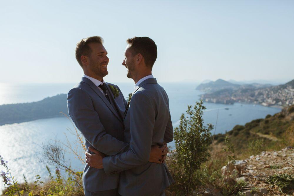 photo session - Eon & Warrick's Gay destination wedding in Dubrovnik, Croatia