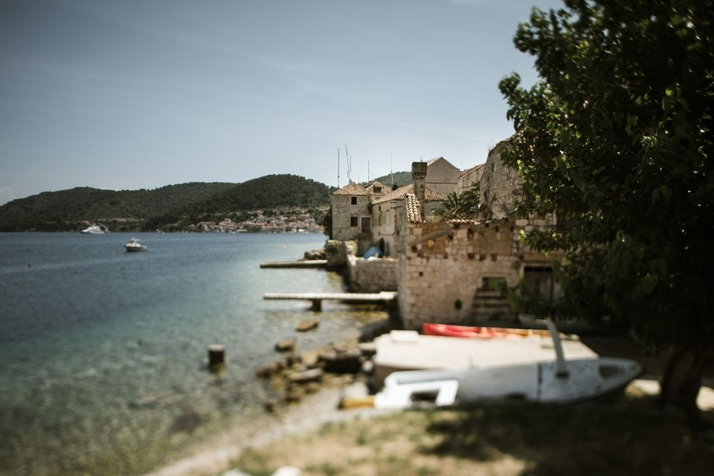 Beautiful Vis Island; by DTstudio Wedding in Croatia