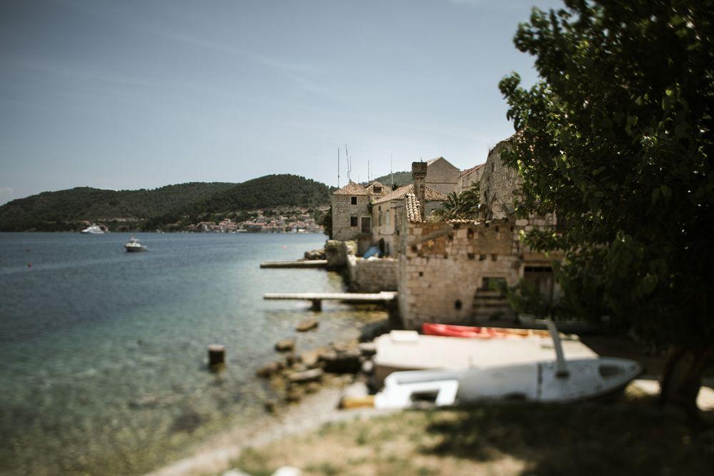 Beautiful Vis Island; by DTstudio Wedding in Croatia
