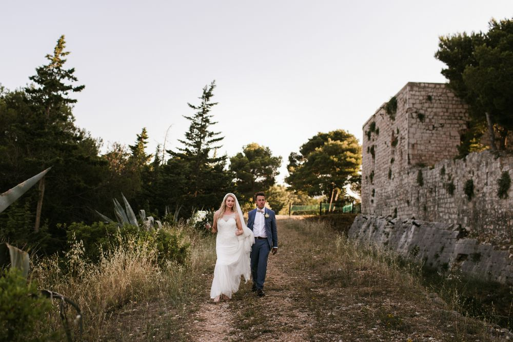 Wedding in Croatia, Fort George