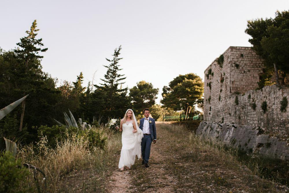 Wedding in Croatia, Fort George