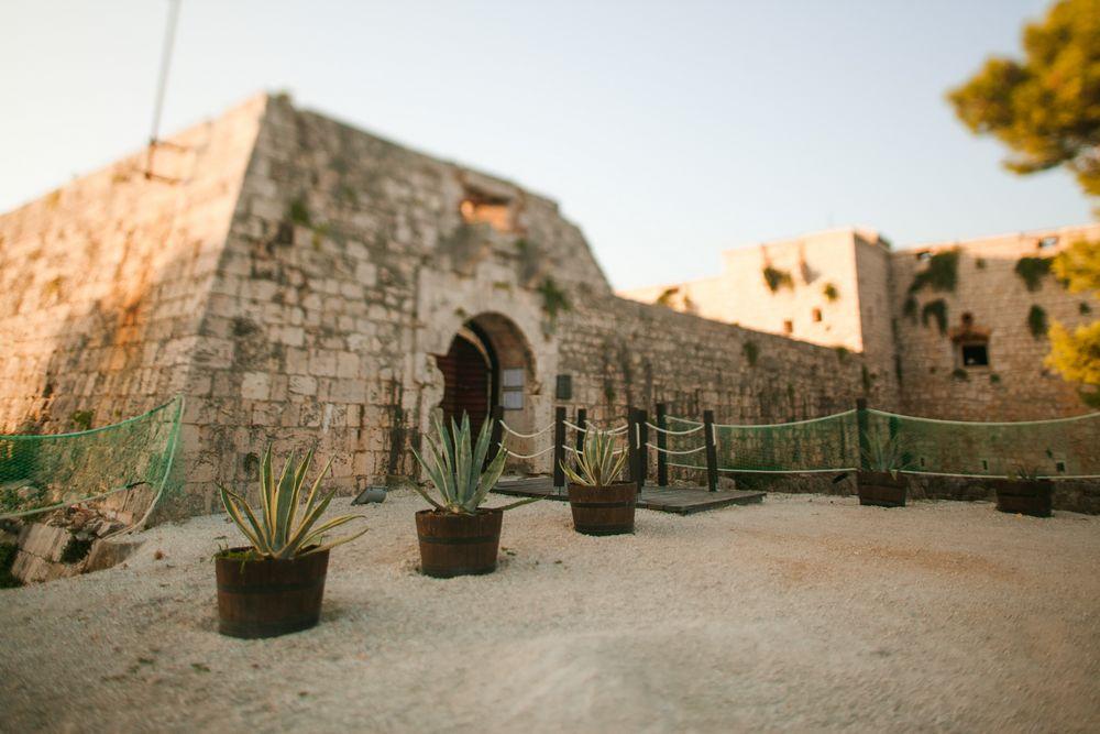 Fort George, Vis, Wedding in Croatia
