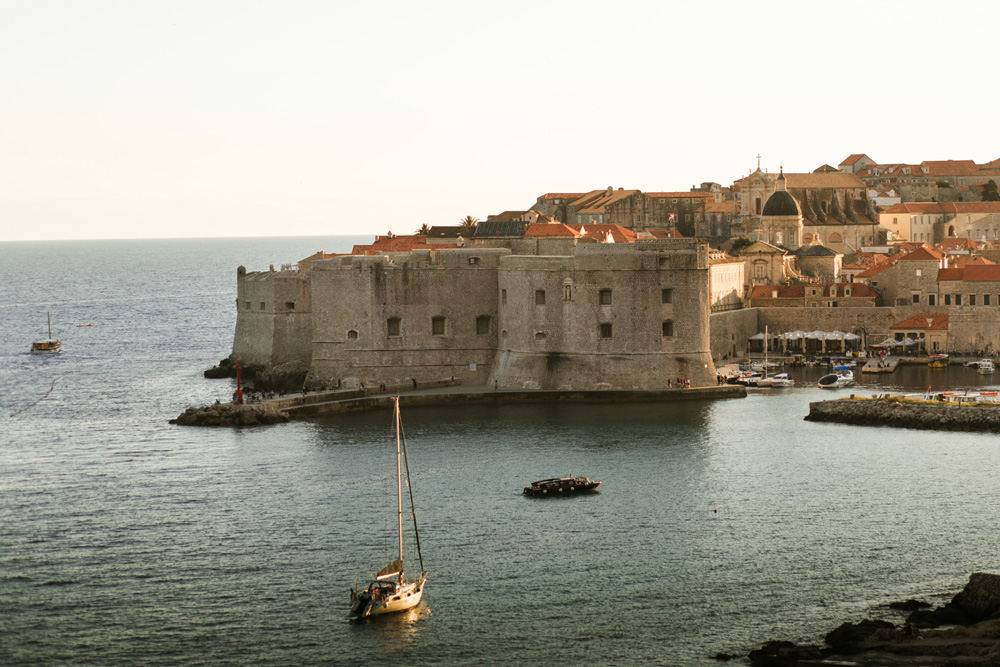 Dubrovnik is a perfect location to get married in Croatia