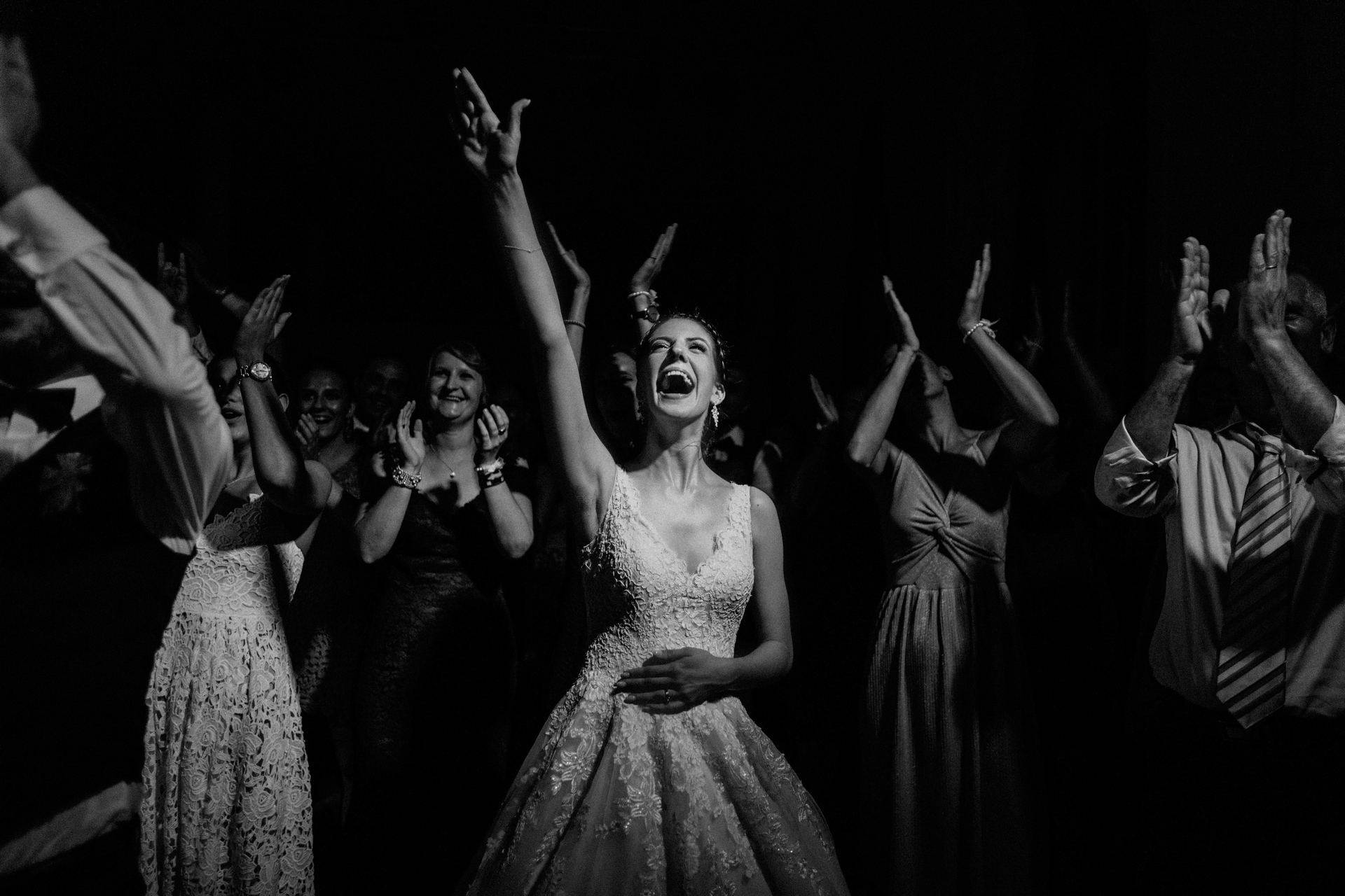 wedding photographer | homepage |  020- chur wedding bride singing
