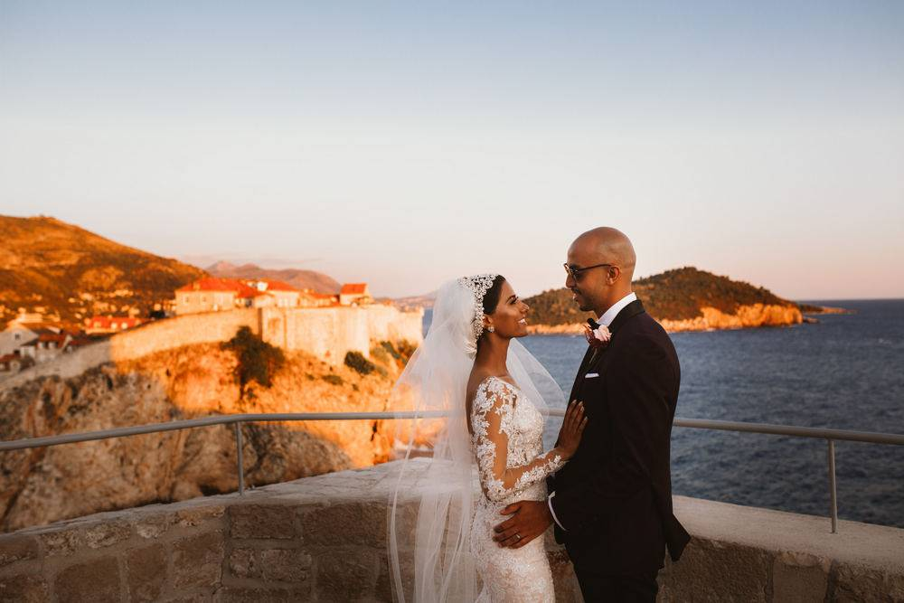 Nora & Hammad getting married in Dubrovnik