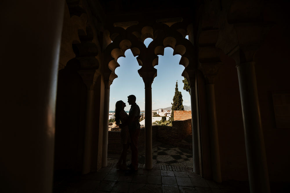 Malaga wedding session with Spain wedding photographer & Videographer in Marbella.