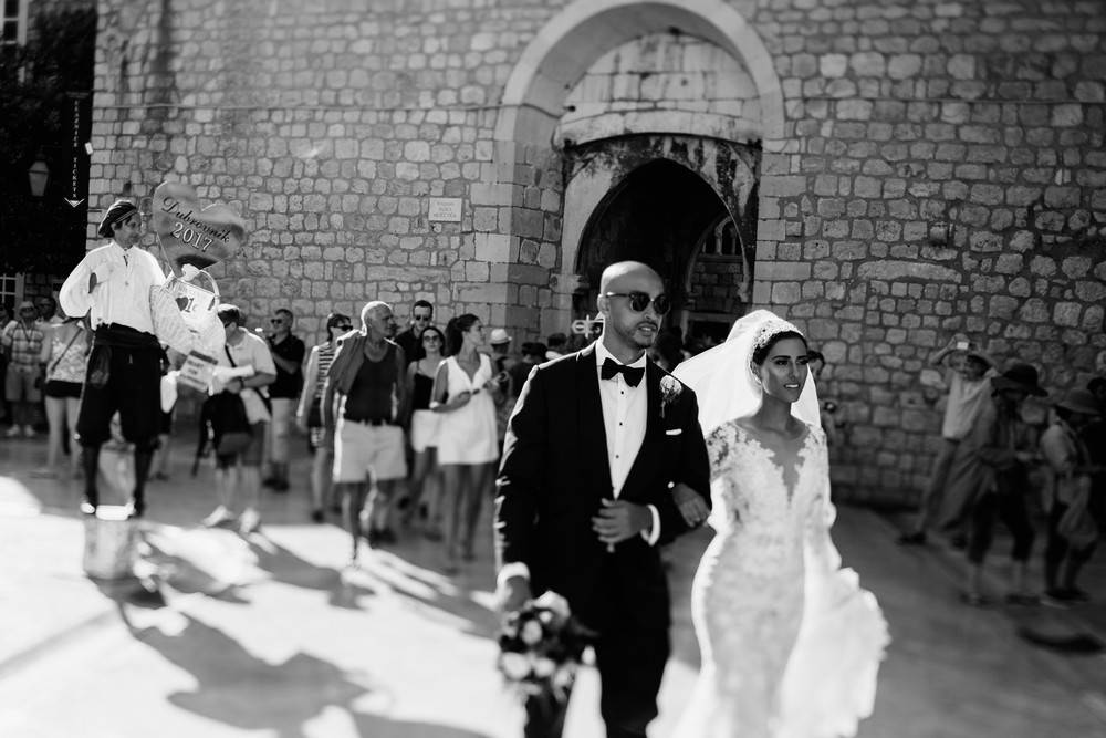 Egyptian couple having destination wedding in Croatia