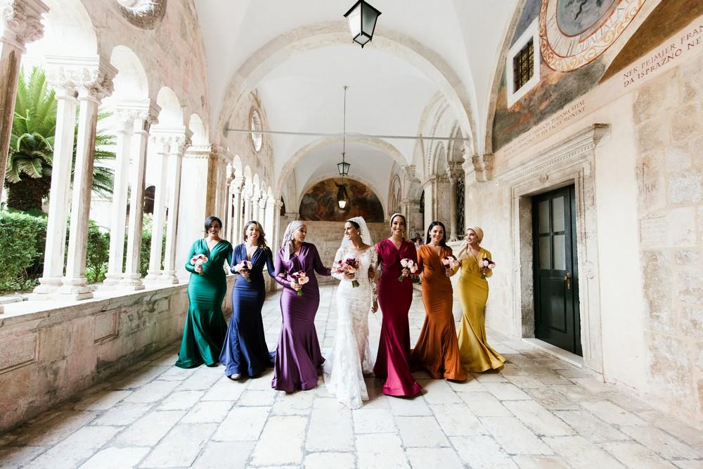 Dubrovnik wedding at Fort Lovrijenac by Croatia wedding photographer