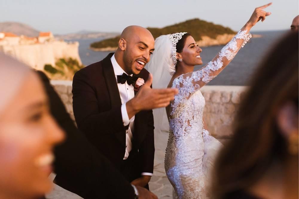 Dancing all the night by Croatia wedding photographer