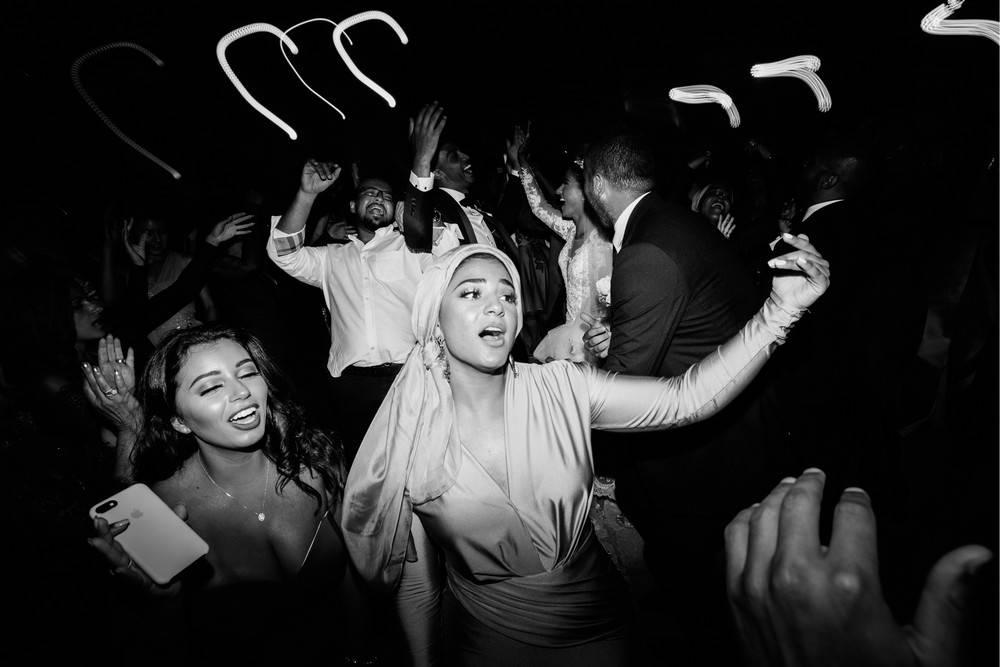 Dancing party at Dubrovnik wedding