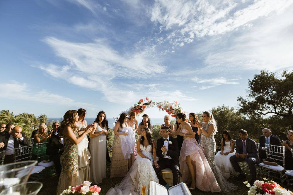 Marbella wedding in Spain. Iranian traditional wedding captured by Spain wedding photographer and videographer in Malaga.