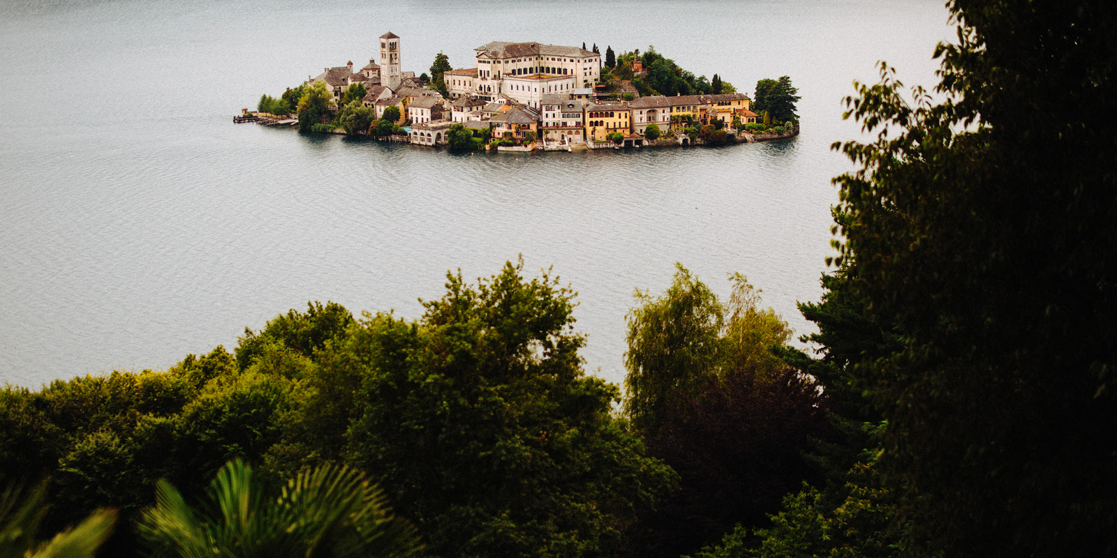 A beautiful view towards the San Giulio Island