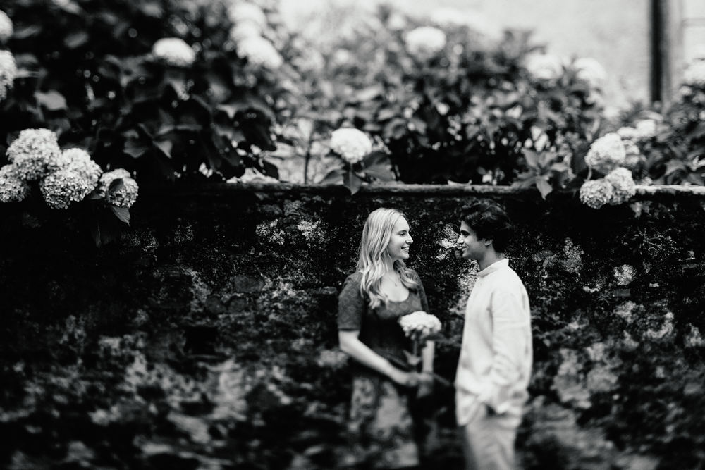 Lake Orta engagement love session in Orta San Giulio captured by © Italy wedding photographer