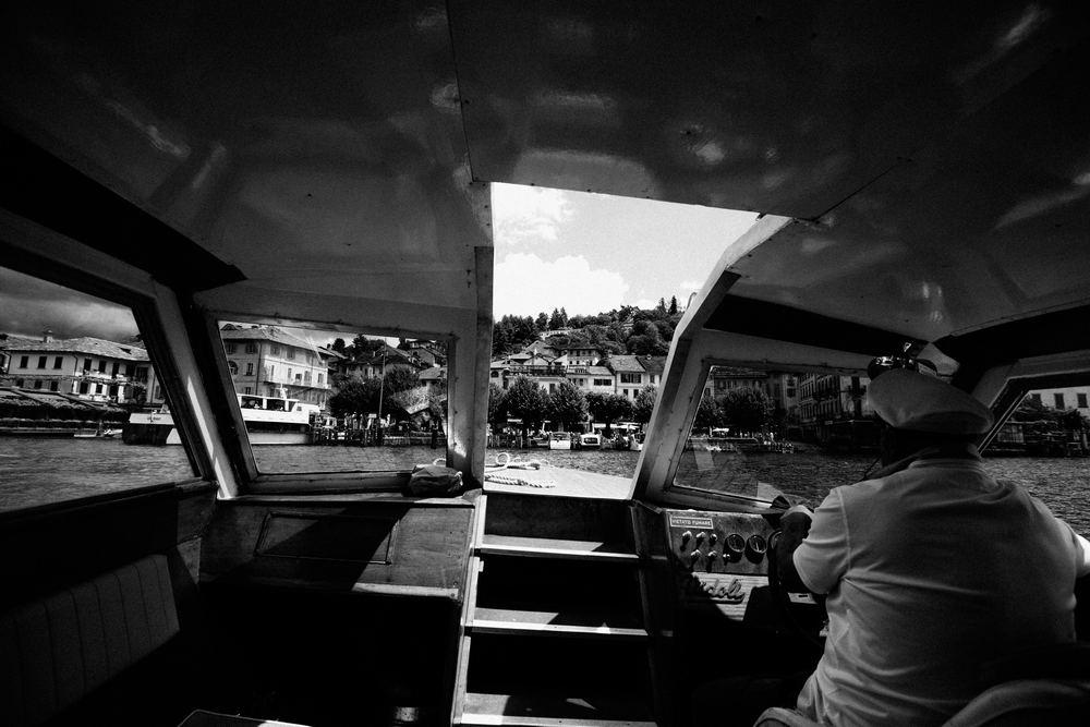 Lake Orta boat rides, Historical views over San Giulio Island