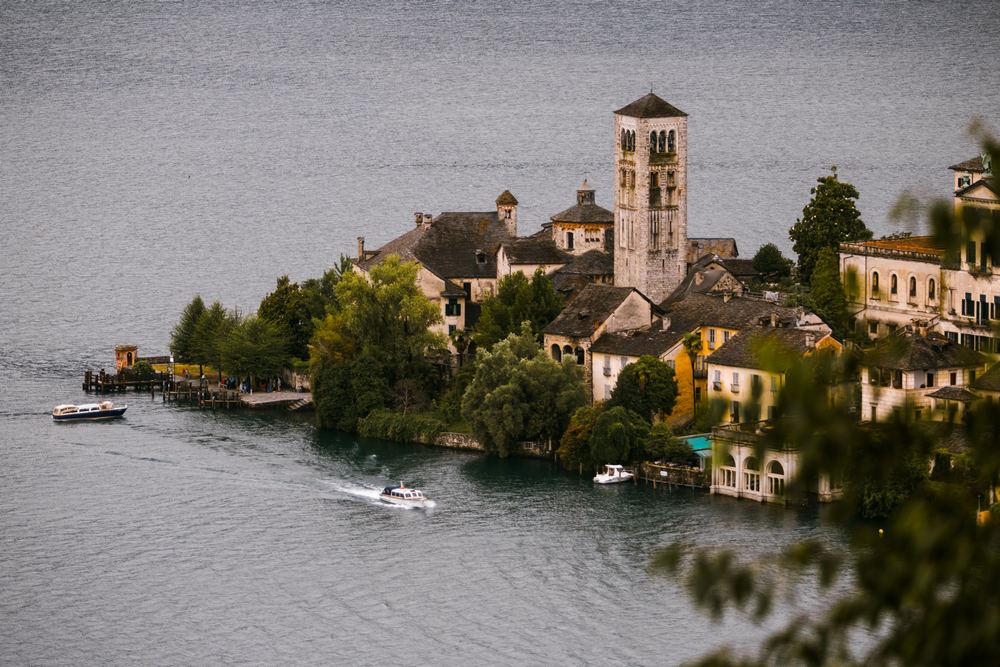 Lago d'Orta landscapes