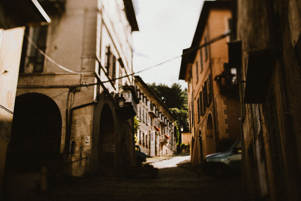 Historical and romantic streets of Orta San Giulio by Lake Como photographer