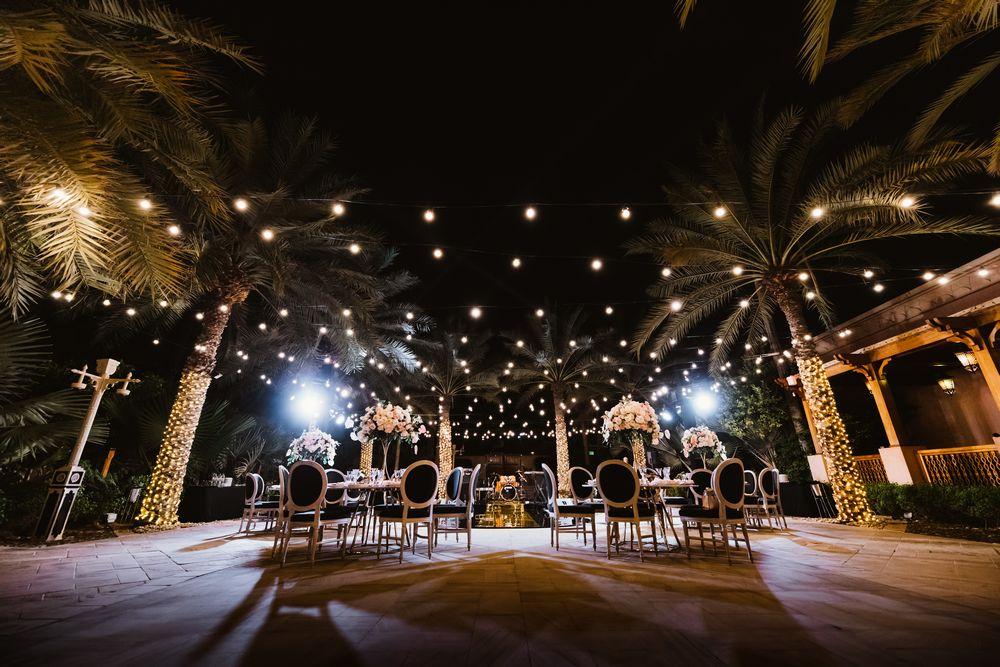 Beautiful outdoor wedding venues in Dubai