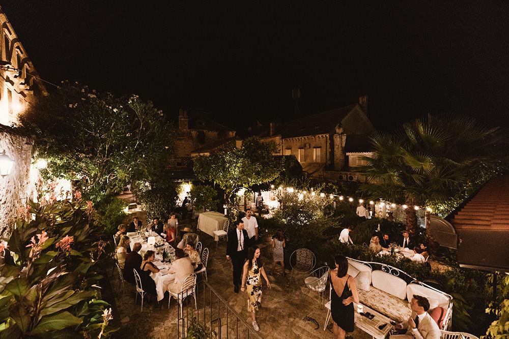 Gorgeous restaurant Lola garden weddings