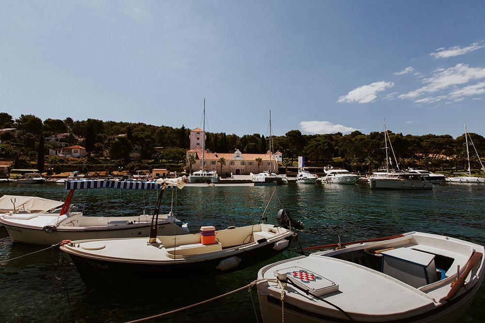 Top Croatian wedding venues in Dalmatia