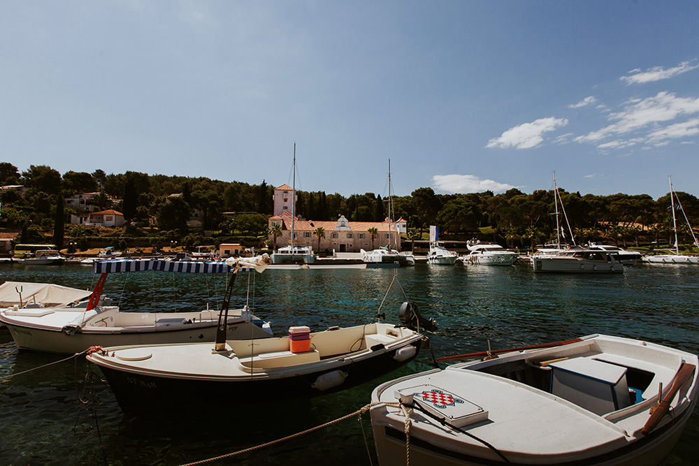 Top Croatian wedding venues in Dalmatia