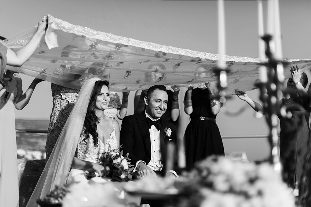 a Persian couple getting married in Croatia