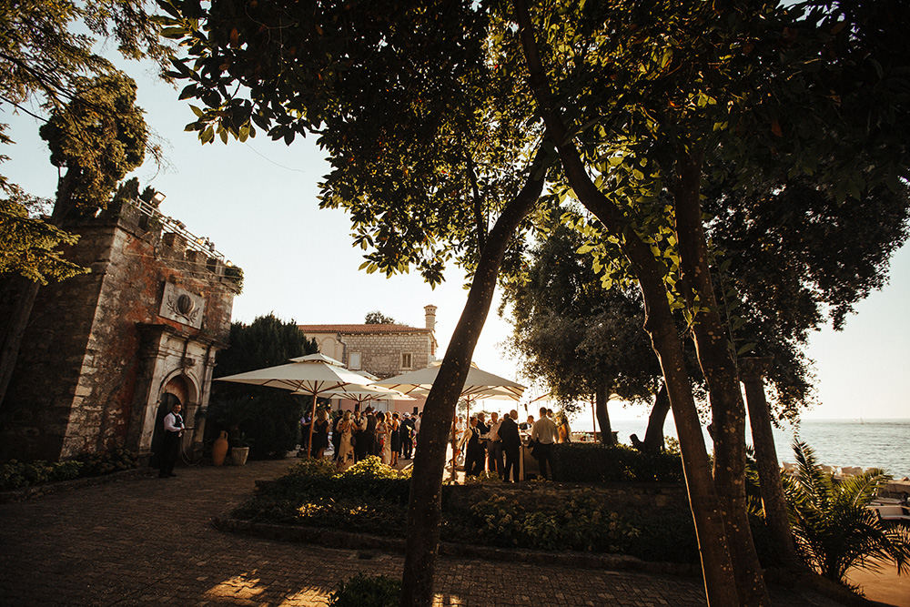 Outdoor wedding venues Croatia