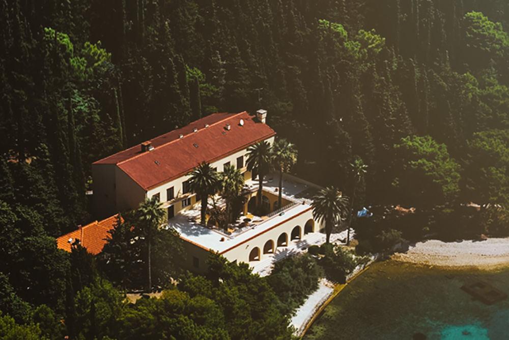 Villa Dalmacija Split wedding venue