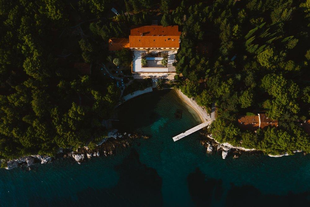 Villa Dalmatia Wedding Venue in Split, Croatia