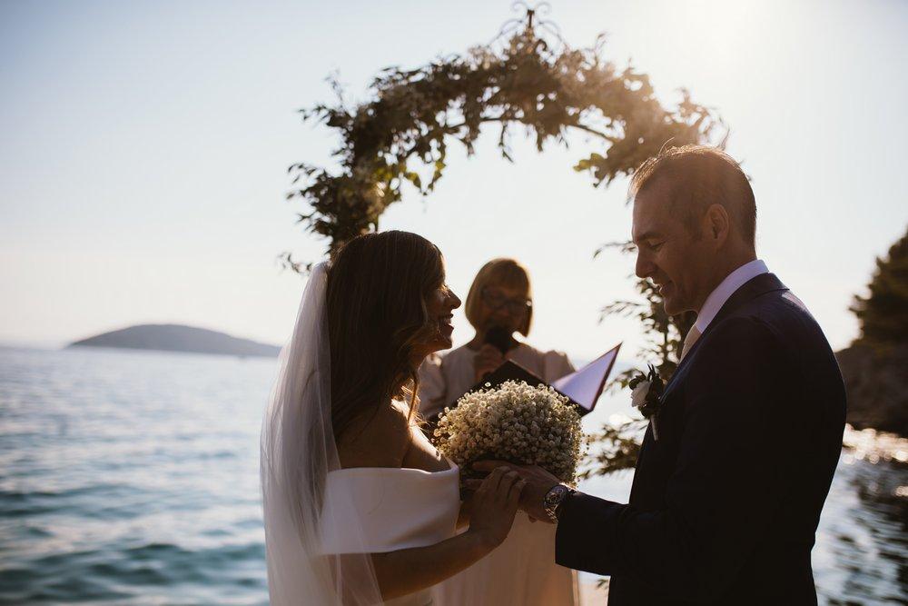 Outdoor wedding in Croatia. Split wedding Venue - Villa Dalmacija