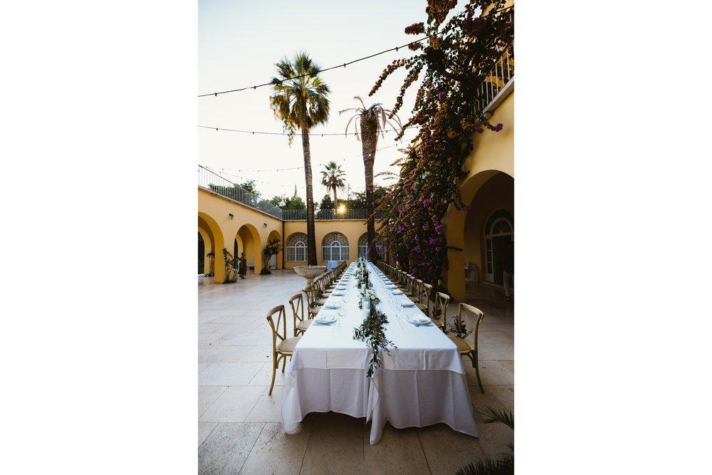 Details of wedding venue in Croatia, Villa Dalmacija