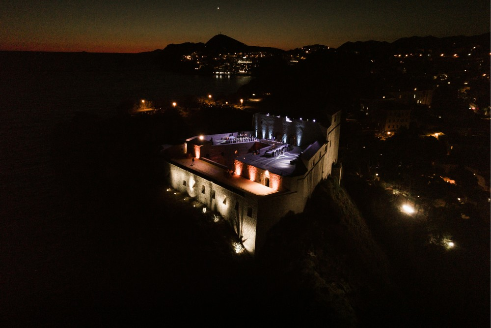 Fort Lovrijenac by night - a perfect Wedding Venue in Dubrovnik