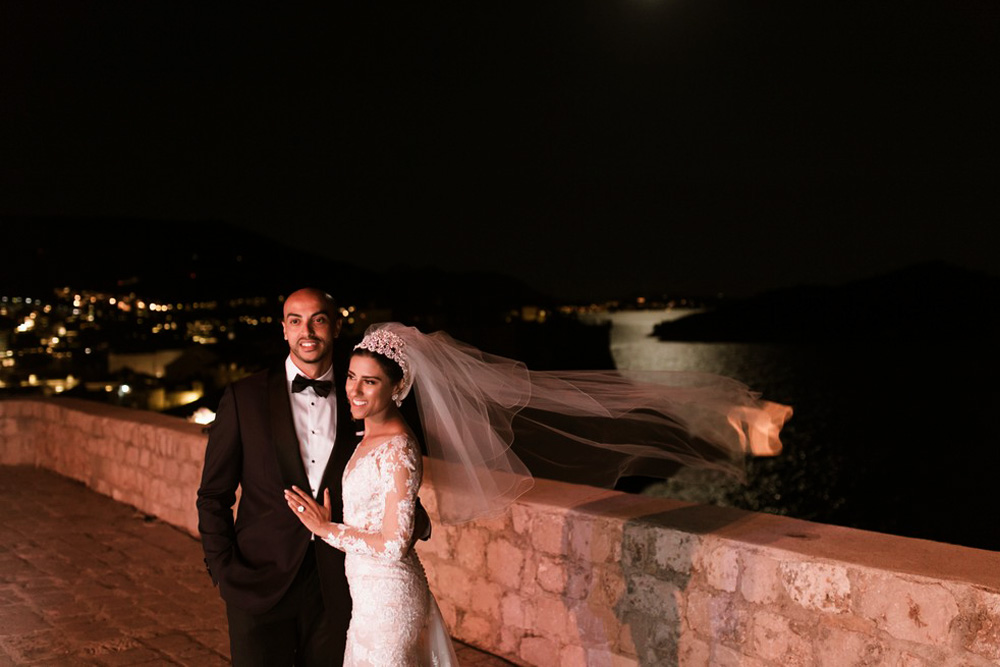 Fort Lovrijenac weddings by Croatia weddings photographer