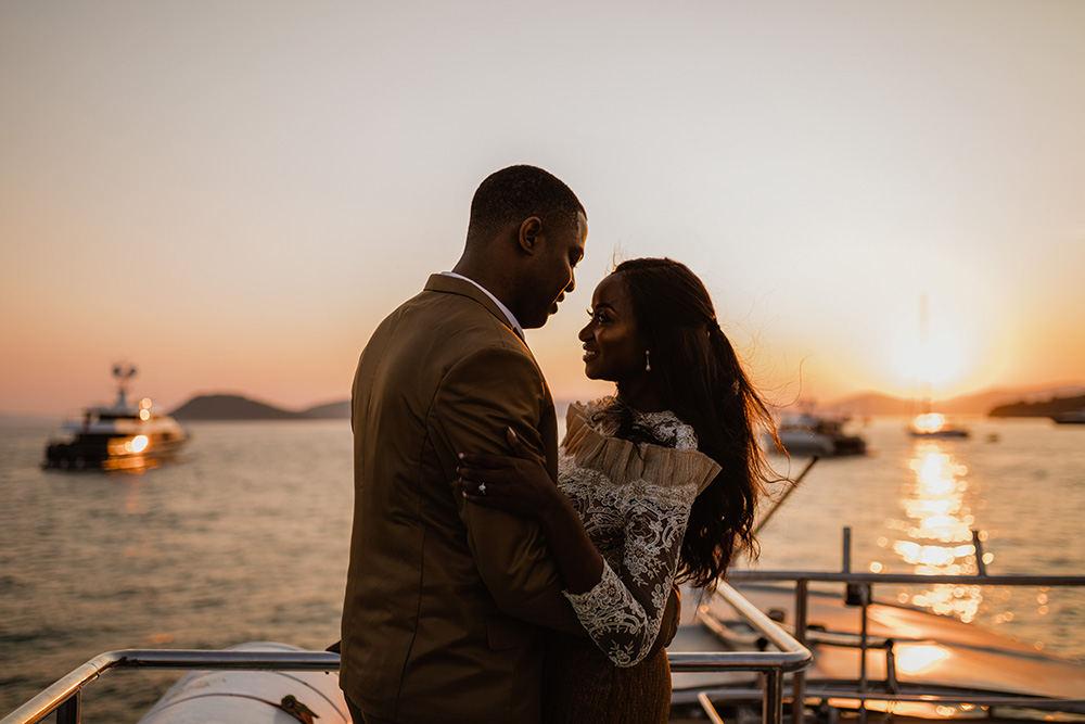 Nigerian couple wedding in Split