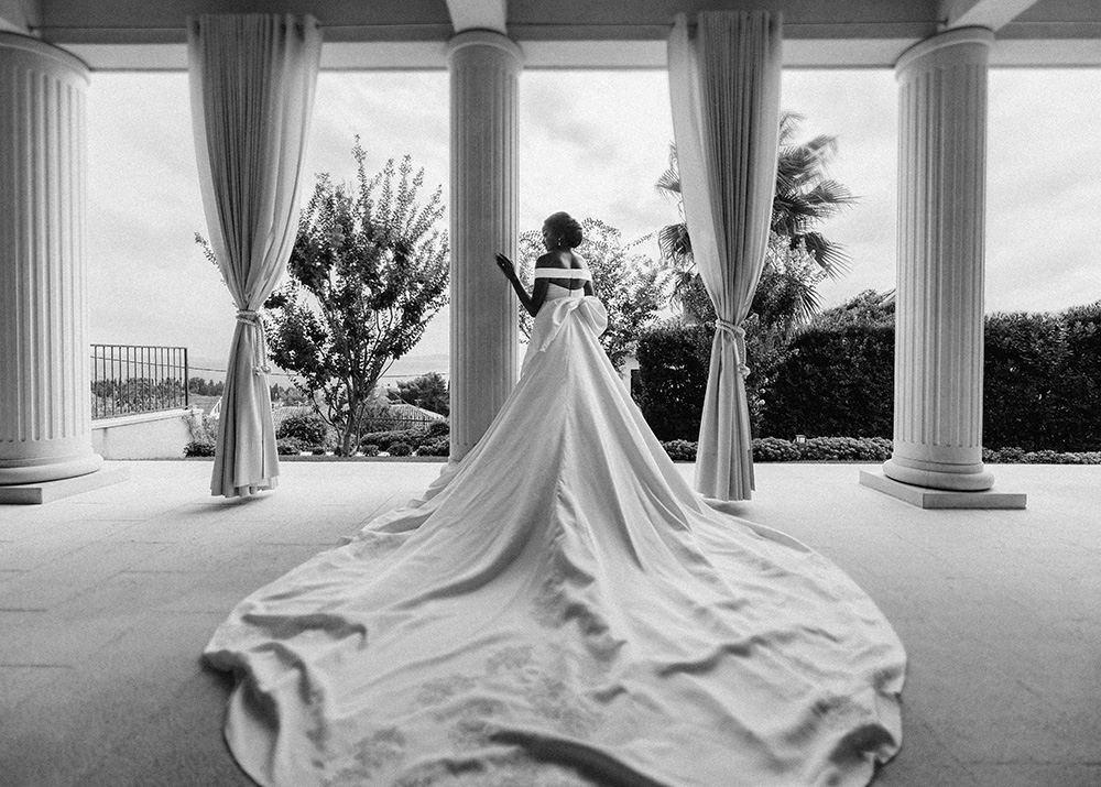 Bridal gown Split, Croatia