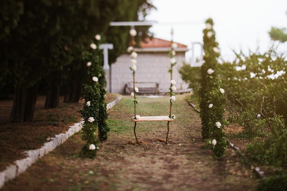 Wedding decor Split