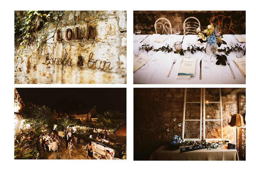 Vis weddings Lola restaurant ©DTstudio - Vis wedding photographer