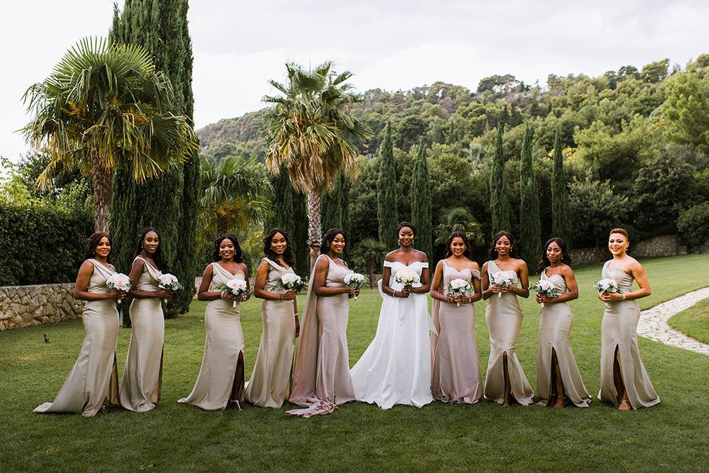 Nigerian wedding in Split