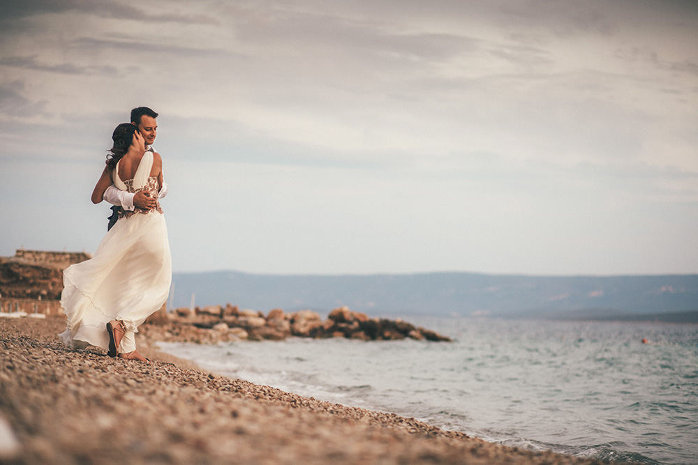 beach weddings on the Island of Brač