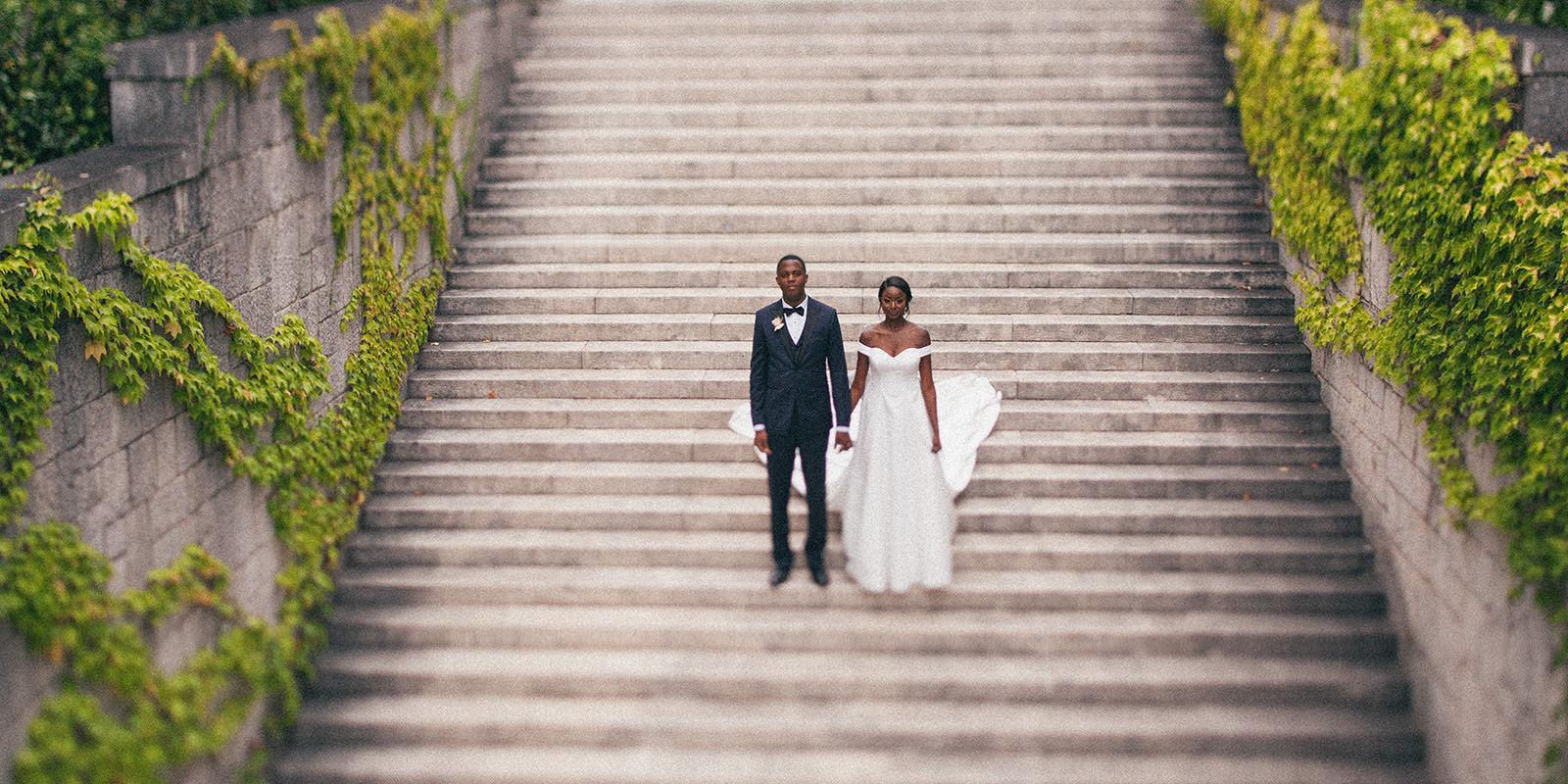 Split wedding