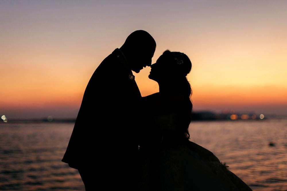 Dubai sunsets by Dubai wedding videographer, Dubai weddings, Beach weddings in Dubai