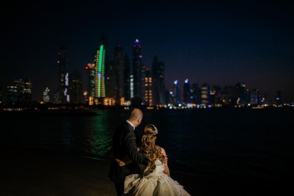 Modern Dubai weddings, Dubai beach weddings, Saudi weddings in Dubai captured by Dubai wedding videographer